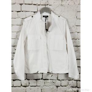 DKNY | Button Front Cotton Windbreaker XL